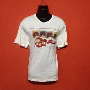 Baju band THE BEATLES a hard days night t shirt