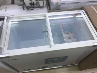 Freezer Hitec - Glass Top 250L Brand New