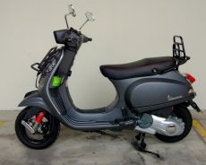 Italian Matte Grey Vespa S125 Direct Owner