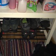 Shoes and Table Cabinet