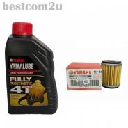 YAMALUBE 4T Fully Synthetic 1Litre + Oil Filter