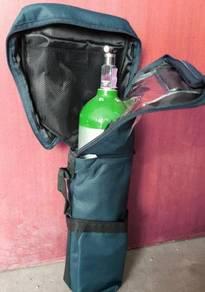 Medical oxygen tank complete set 2.9 litre & bag