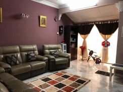 Solok Pekaka Double Storey Terrace House 2200sf Tastefully Furnished