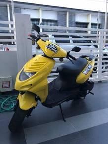 2012 MzS Moskito cooter motorcycle