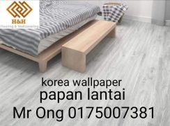 Papan lantai & wallpaper