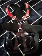 Full Body Harness With Lanyard