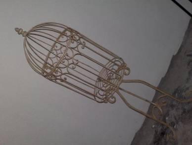 3501 sangkar burung besi decor iron bird cage