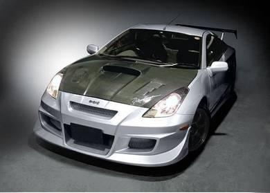 Toyota Celica carbon fiber bonnet