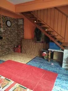 Double storey house (for sale) ipoh bercham utama