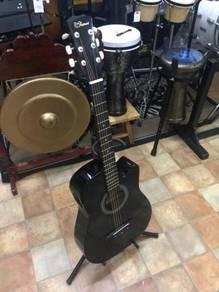 Semi Acoustic Rcstromm (Black)