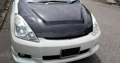Toyota Wish AE10 Carbon Fiber Bonnet Hood