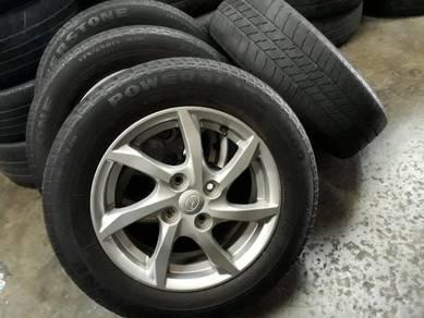 Rim myvi 2018 include tyre