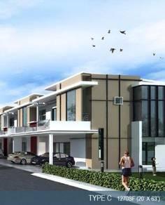 New Double Storey TerraceBukit Martajam for sales