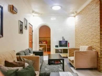 [ground floor] [freehold] wira apartment tmn tun perak,renovated