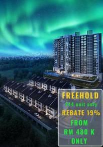 Mahkota Cheras Freehold Low Density