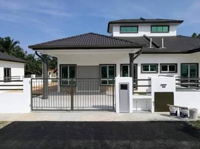 SEMI D FULL LOAN 40x69 Sungai Pinang PULAU INDAH,KLANG