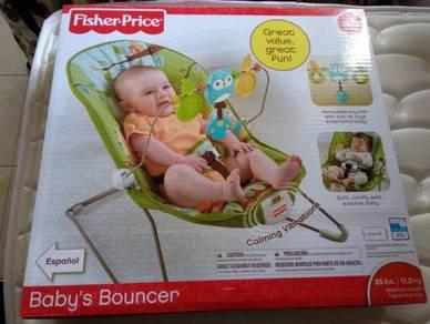 Fisher Price Baby Bouncer Baru