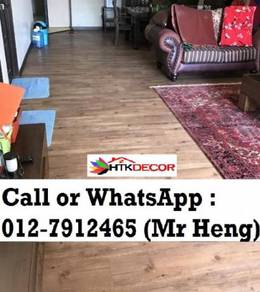 Natural Wood PVC Vinyl Floor - With Install 30DF