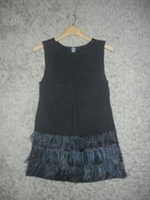 Jaker 166 zara kids black mini dress