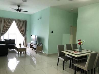 Rumah Sewa Sky Habitat 2 Bedroom Fully Furnished Near To CIQ