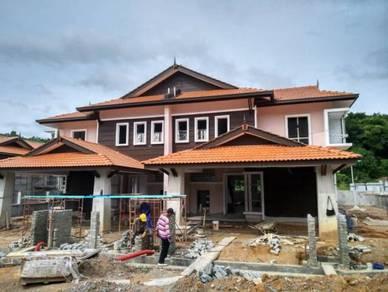 Semi D 2 Tingkat Ekslusif Seni Bina Melayu Moden Di Seremban