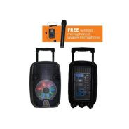 Flepcher PPA-0835 Portable PA System Speakers