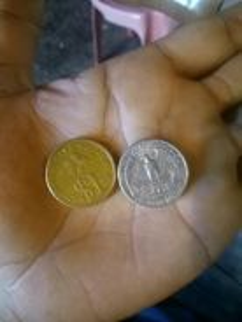 Coin 1977 liberty usa n 1rm malaysia 1989