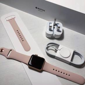 Apple Watch Series 3 38Mm Gold Aluminum Sand Pink