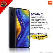 Xiaomi Mi Mix 3 [6+128GB] Ori Msia set + gift