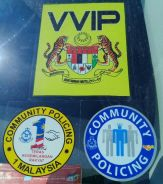 Sticker Community Policing - Window Sticker
