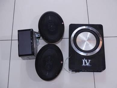 PIONEER Avh-x5550bt (WITH SPEAKER)