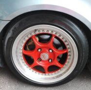 Enkei rs 16 8jj et32 all with tyre