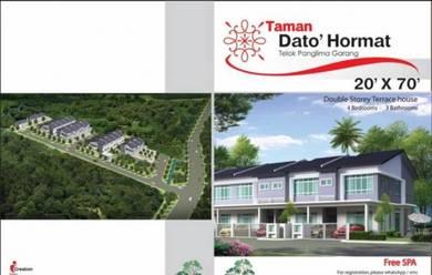 Telok panglima garang house for sale