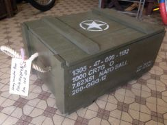 Army Wooden Box
