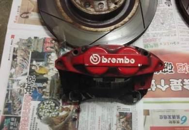 Brembo 4pot honda city gm2 gm6 jazz gk5