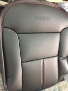 Perodua Bezza Semi leather seat