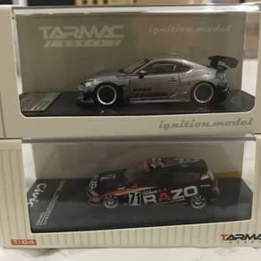 Ignition 1/64 Toyota 86 & TW Honda EG6
