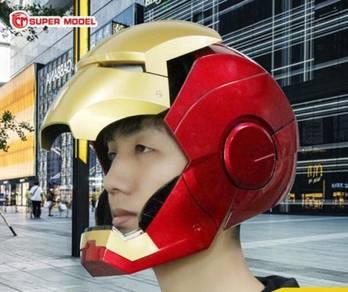 Avengers Iron man armored LED helmet wearable