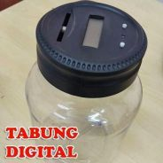 N9 - Tabung coin digital for kids