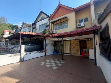 [Fully Furnished] 2 Story Bandar baru selayang reno kitchen cabinet