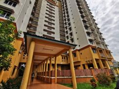 Apartment at taman ltat bukit jalil strategic location kl