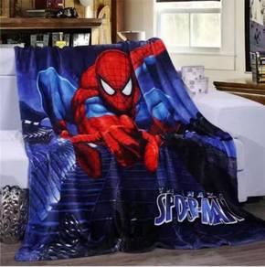 SPIDERMAN Selimut Fleece Blanket Bigger 1.5X2M