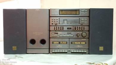 Sharp Hifi Model CD-C500Z