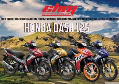 Honda dash 125 boleh loan kedai