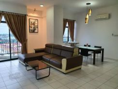Fully Furnished unit at Riverine Emerald, Jalan Petanak