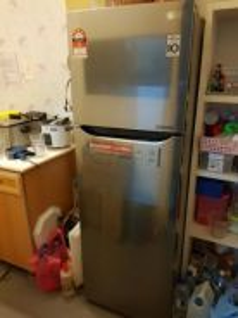 LG 272L refrigerator peti ais