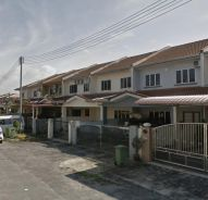 FREEHOLD Double Storey Terrace Taman Samarax FOR SALE