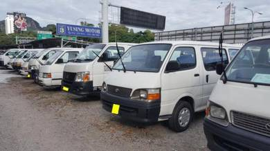 (Pusat Van ) Original Local Toyota Hiace Supplier