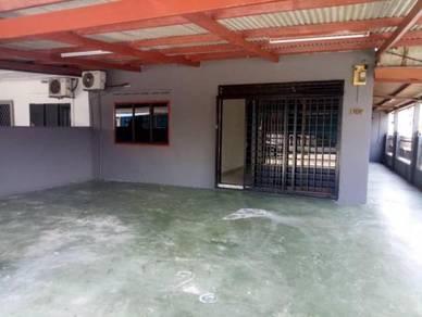 Single storey corner lot taman tiram baru/ ulu tiram/ below market