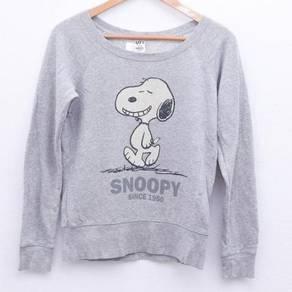 Size S UNIQLO x PEANUTS Sweatshirt Pit 18.5